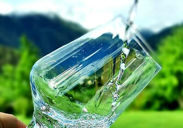 Bestes Trinkwasser von der Speiereckquelle