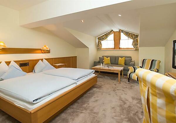 Appartement Schlafzimmer 1