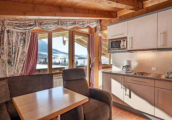 Appartement 4 Küche/Wohnraum