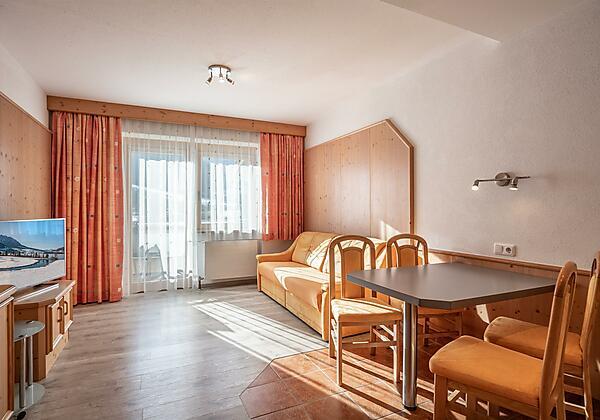Appartement 2 Wohnraum