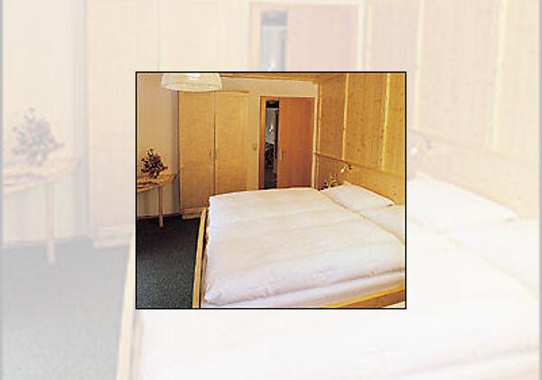 Doppelzimmer in der Pension In der Mauer in St. Jakob im Defereggental