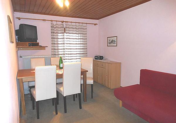 Ein komfortables Doppelzimmer in der Pension Obladis