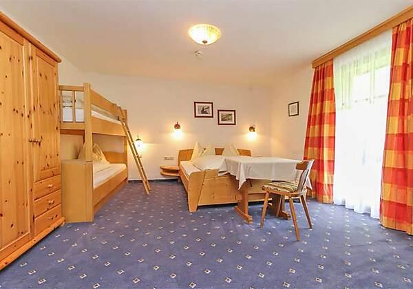 Das Restaurant in der Pension Seighof