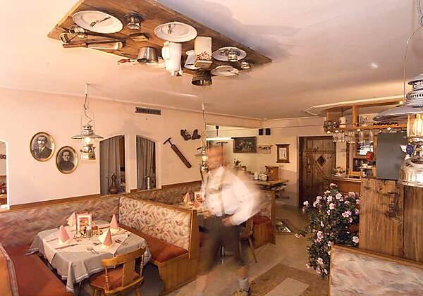 Der Sauna-Tempel in der Pension Seighof