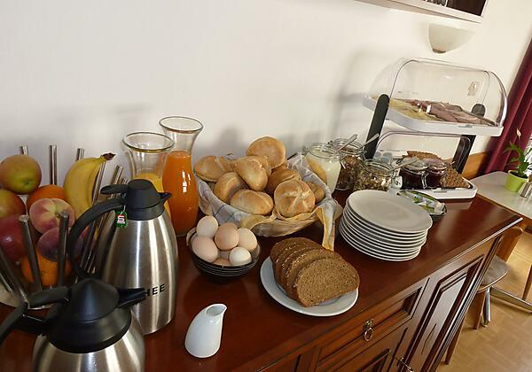 Frühstück Pension zu Hause