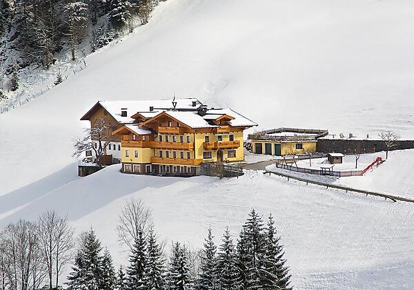 Pfandlinghof im Winter