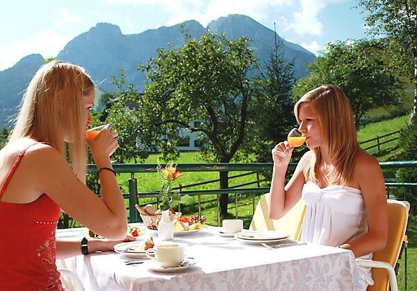 Garten Frühstück
