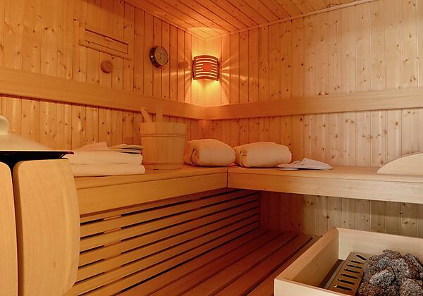 Jede Ferienwohnung mit eigener Sauna