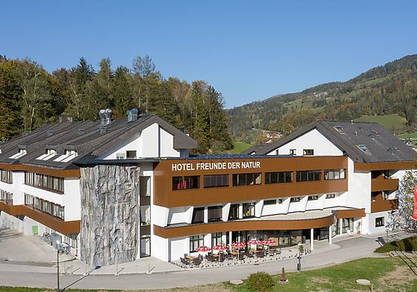 Hotel mit Kletterwand