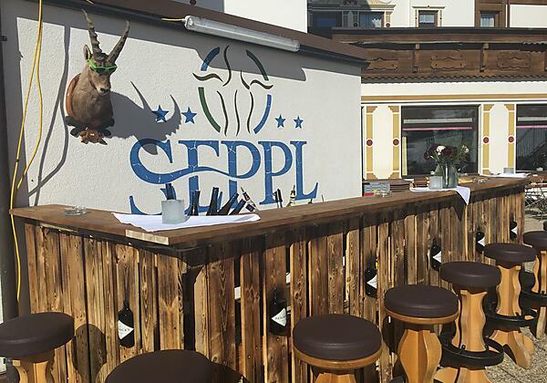 Hotel Seppl Gin Bar