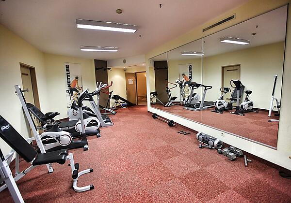 Hotel Seppl Fitnessraum