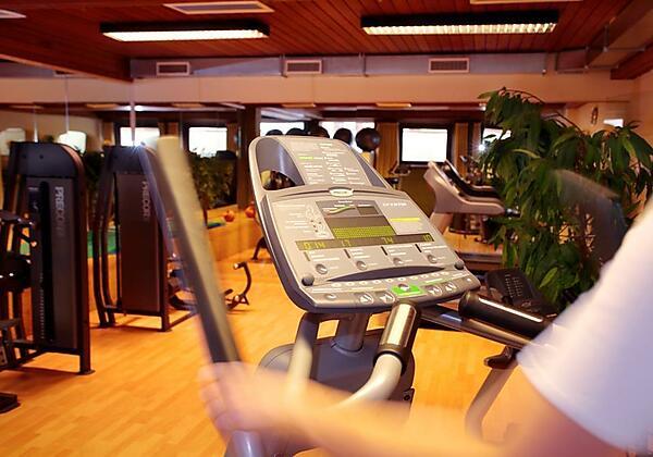 Pulverer Fitnessraum