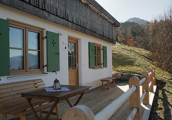 Eingang & Terrasse Ferienwohnung