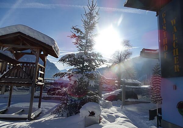 Gasthof-walcher-Dorfgastein-winter haus