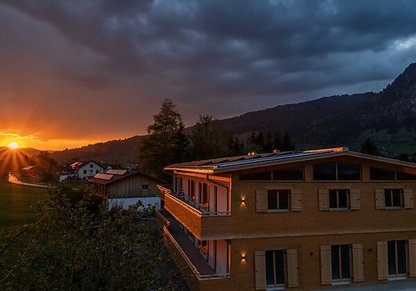 Sebis-Sonnenuntergang