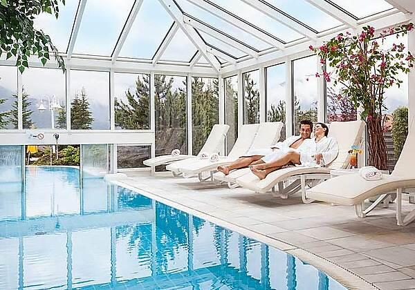 Doppelzimmer im Wellness Sporthotel Alpenhof